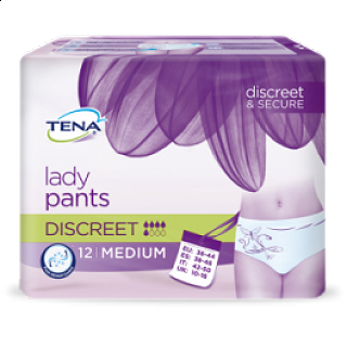 TENA LADY PANTS DISCREET MEDIUM 12PZ