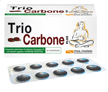 TRIOCARBONE PLUS - 40 COMPRESSE