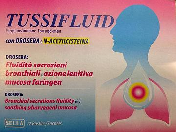TUSSIFLUID 12 BUSTINE