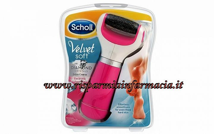 SCHOLL VELVET ROSA SOFT ROLL PEDICURE PROFESSIONAL
