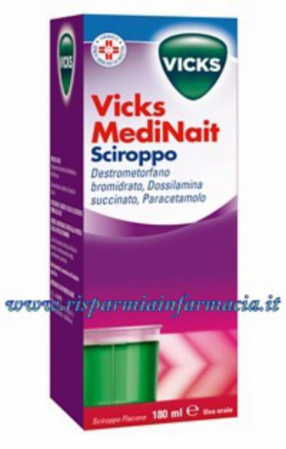 VICKS MEDINAIT 180 ML DECONFESTIONANTE NASALE A BASE NAFAZOLINA