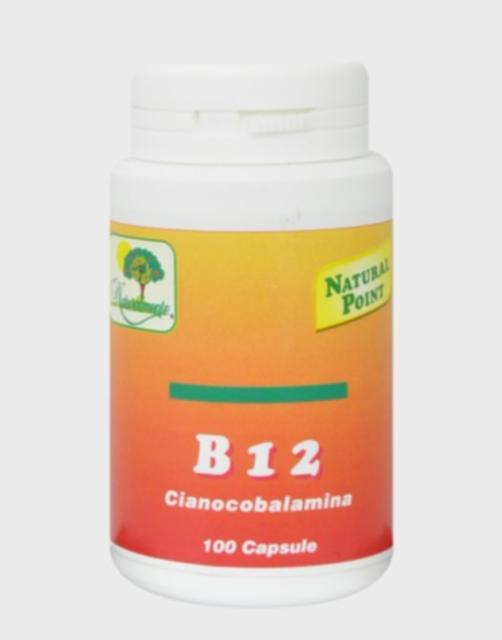 NATURAL POINT VITAMINA B12 100 CAPSULE