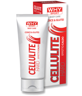 WHY SPORT BODY CARE CELLULITE HARD 200 mL Trattamento cosmetico INTENSIVO con effetto caldo su cosce e glutei