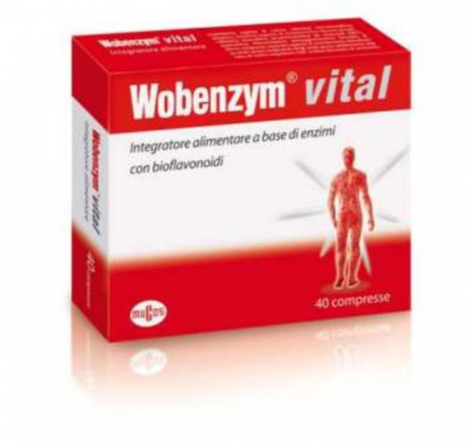 NAMED- WOBENZYM VITAL 40 compresse