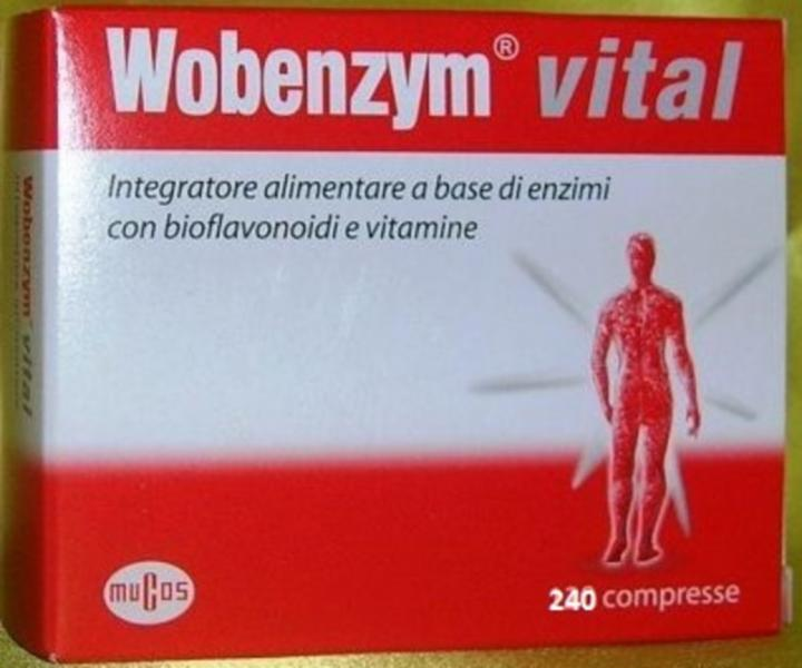 NAMED WOBENZYM VITAL 240 compresse
